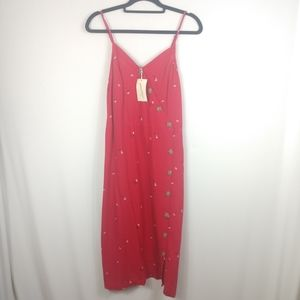NWT Universal Thread Floral Dress Red